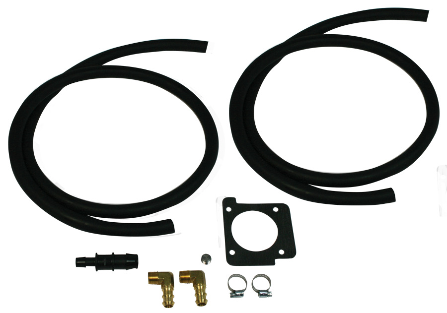 Moroso Air Oil Separator PCV Delete Kit: Subaru
