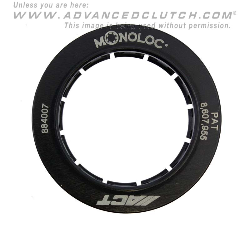 ACT Monoloc Collar: Mitsubishi Lancer EVO X GSR (OEM PRESSURE PLATE ONLY)