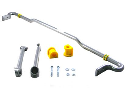 Whiteline Automotive Adjustable Rear Sway Bar w/Mount Support Brace: Subaru WRX 2008-2012