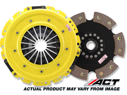 ACT Heavy-Duty 6-Puck Clutch Kit : 06-12 Nissan 350Z/Infiniti G35 VQ35HR & VQ37HR