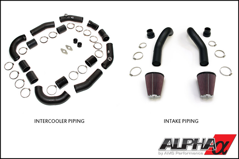 AMS/ALPHA Performance Induction Kit: Nissan R35 GT-R 2008+
