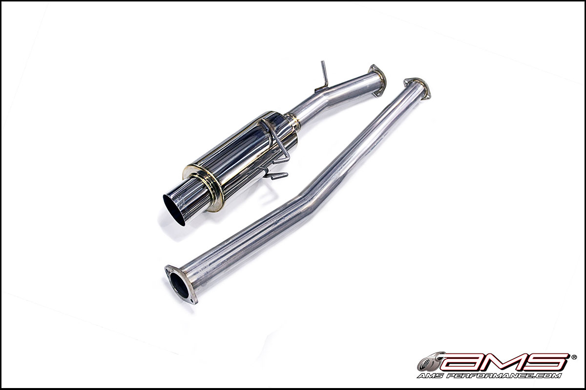 AMS Performance Racing Series Cat-Back Exhaust System: Mitsubishi Evolution X