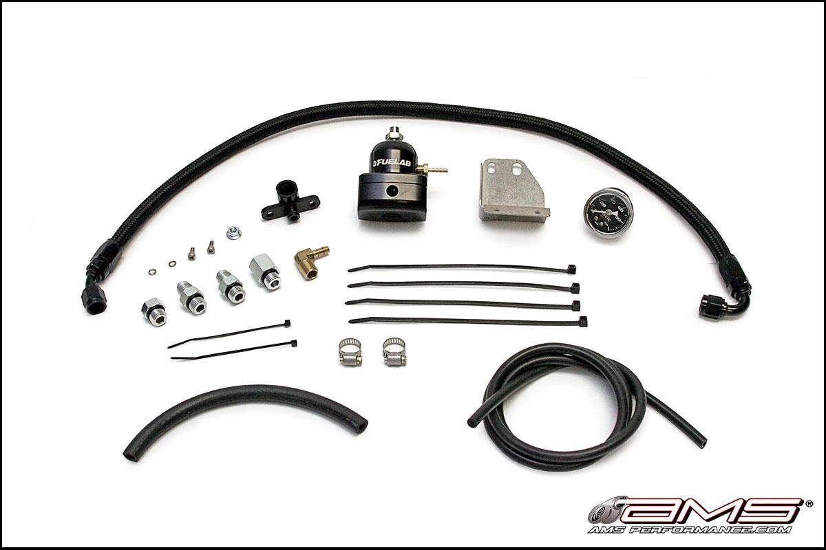 AMS Performance Fuel Pressure Regulator Kit : Mitsubishi  Evolution X
