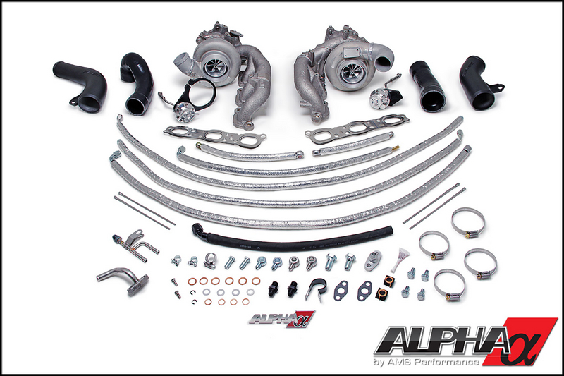 AMS/ALPHA Performance ALPHA 9 Bolt-on Turbo Upgrade: Nissan R35 GT-R 2008+