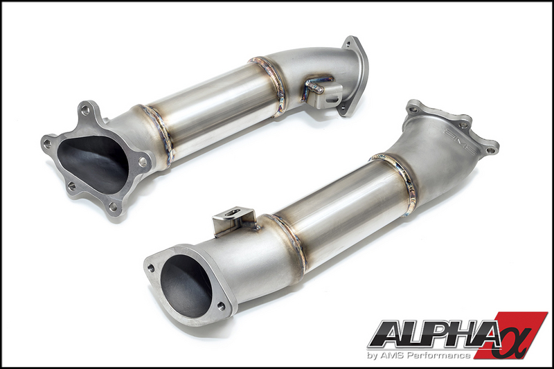 "AMS/APLHA Performance ""Widemouth"" Downpipes: Nissan GT-R R35 2008+"