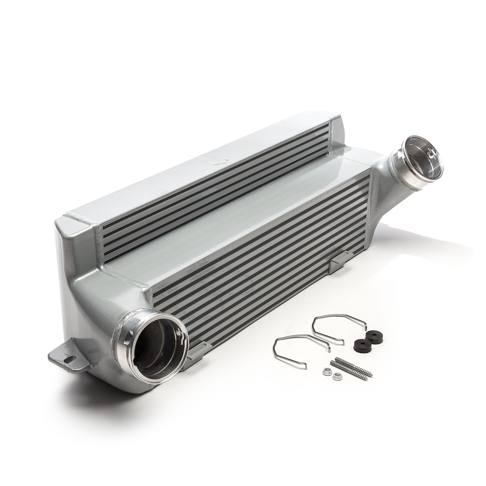 Cobb Tuning/CSF N54/N55 Front Mount Intercooler: BMW 1M 2011, 135i 2008-2013 & 335i 2007-2013 (SILVER)