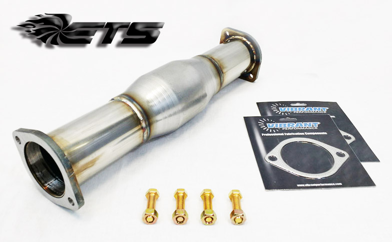 Extreme Turbo Systems Catted Test Pipe: Mitsubishi EVO VIII & IX