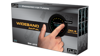 PLX Devices Gen 4 Wideband Air/Fuel Combo: DM-6 & SM-AFR (Bosch LSU 4.9)