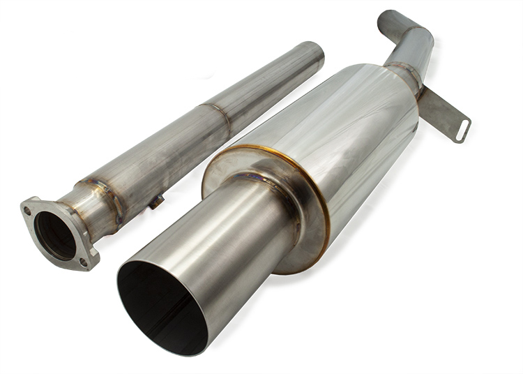 Extreme Turbo Systems Exhaust System: Mitsubishi Evolution VIII & IX 2003-2006