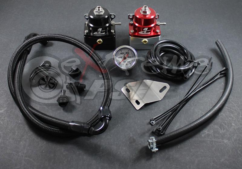 "Aeromotive ""A1000"" Complete Fuel Pressure Regulator Kit w/ Gauge: Mitsubishi EVO X"