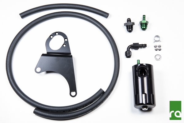 Radium Engineering Oil Catch Can Kit: Mitsubishi EVO VIII/IX 2003-06