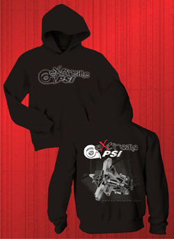 Extreme PSI Pull-Over Hoodie ver. 2: Black CHRA *NEW*