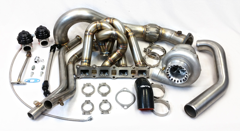 Extreme Turbo Systems T4 Twin Scroll Turbo Kit : Mitsubishi EVOLUTION X 2008-15