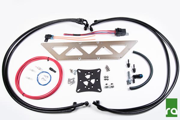 Radium Engineering Fuel Surge Install Kit: Mitsubishi EVO VIII/IX 2003-06