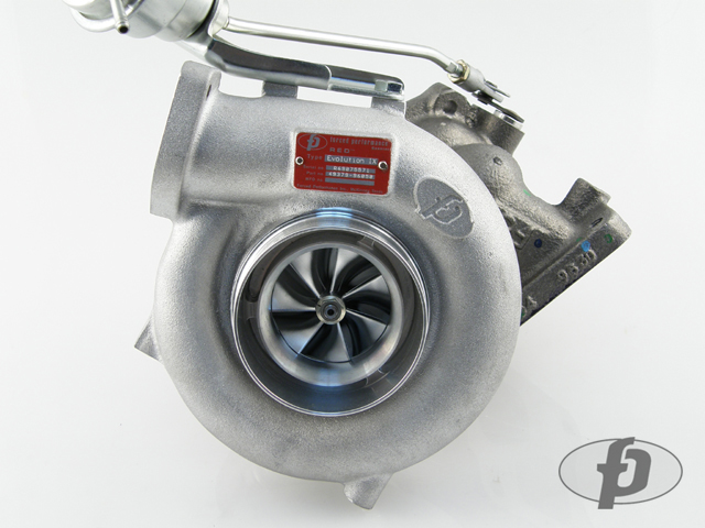 "Forced Performance ""RED 76HTZ"" Ball Bearing Turbocharger: Mitsubishi Evolution IX"