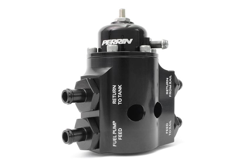 PERRIN Performance Adjustable Fuel Pressure Regulator Kit: Subaru STI 2008-2017
