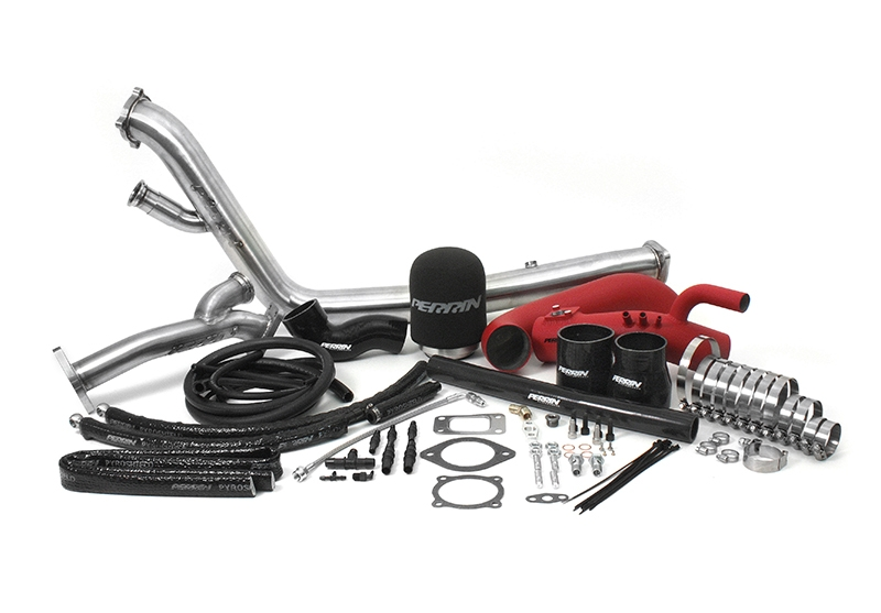 PERRIN Performance Rotated Turbo Tuner Kit: Subaru WRX 2002-2014, STI 2004-2017
