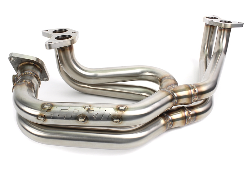 PERRIN Performance E4-Series Equal Length Big-Tube Header: Subaru WRX 2002-2014, STI 2004-2017