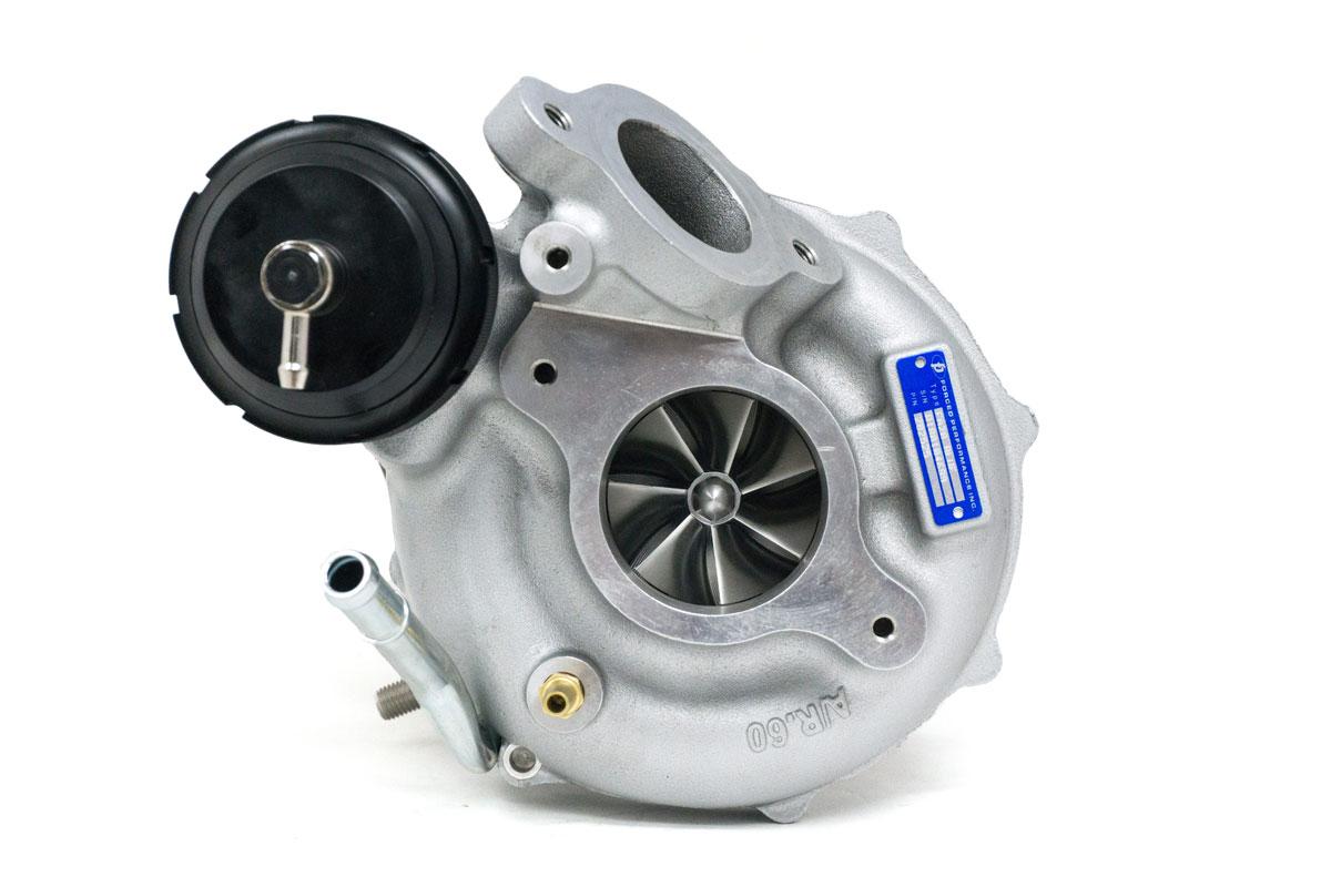 "Forced Performance ""XR FA20 Blue"" Ball Bearing Turbocharger: Subaru WRX 2015-18"