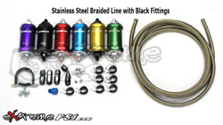 "FueLab ""818"" Complete Fuel Feed Upgrade Kit (Tank to Fuel Rail): Mitsubishi Eclipse 90-99 *SALE*"