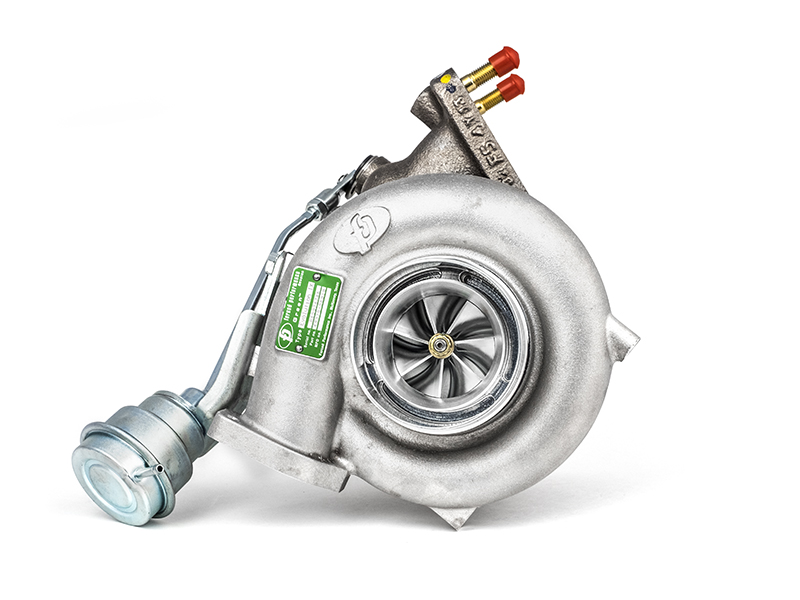 "Forced Performance ""FP54 Green"" Ball Bearing Turbocharger: Mitsubishi Evolution IX"