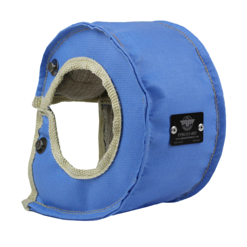 PTP Turbo Blankets: T3/T4 Turbocharger Blanket - Blue
