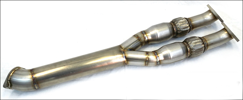 Extreme Turbo Systems Y-Pipe: Nissan GTR 2009-15