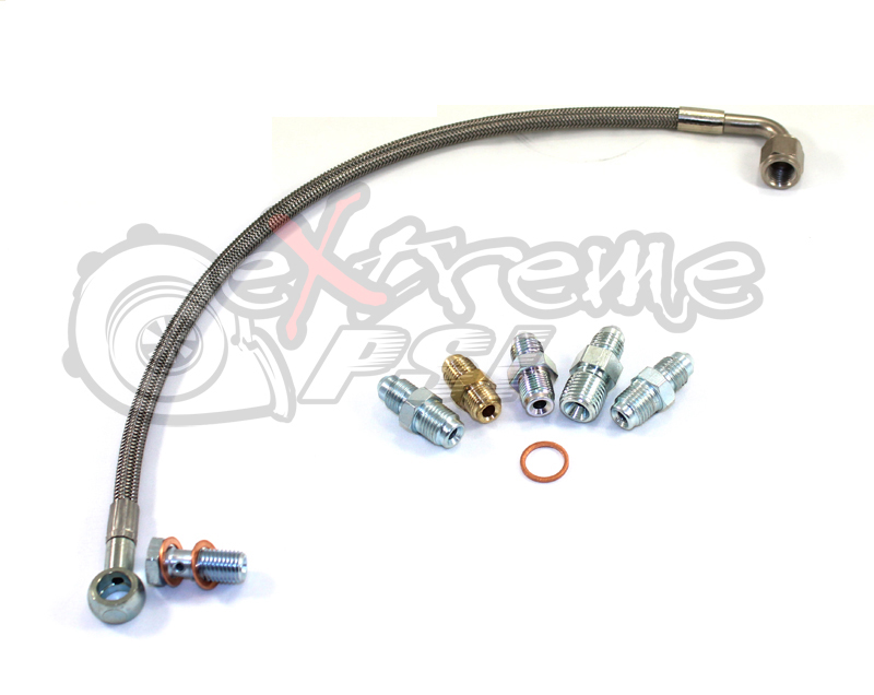 Oil Feed Line Kit (Head Location): Mitsubishi Lancer EVO VIII & IX