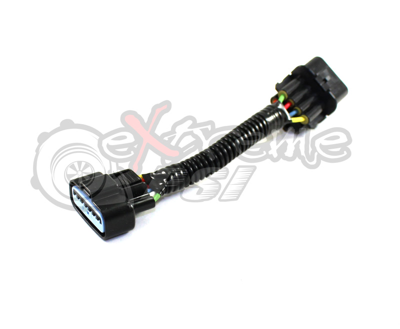 1g/VR4 DSM Mass Air Sensor Harness to 3g/Evo Air Flow Sensor MAF Cable Adapter MAF Connector