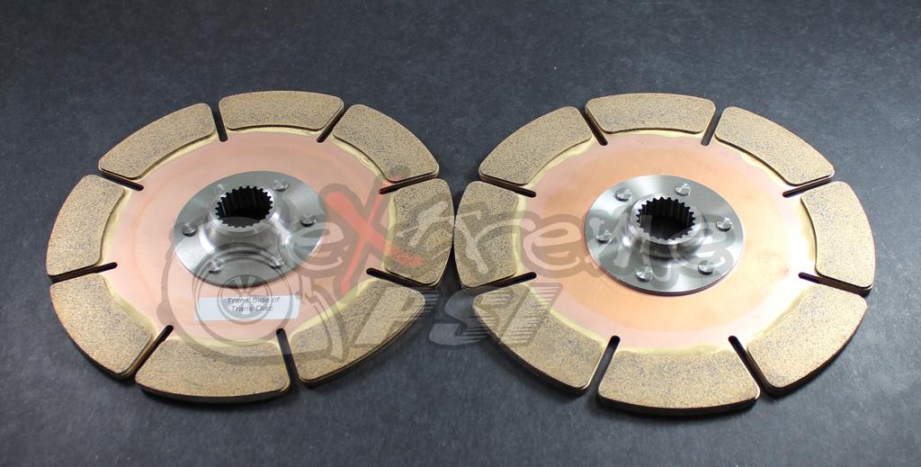 "PowerTrain Technology (PTT) Replacement Clutch Discs: Mitsubishi Eclipse 1990-99 (7/8"" x 20 Spline)"