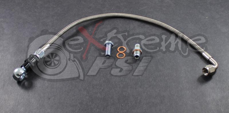 Oil Feed Line Kit w/ 35 Micron Filter (Head Location): Mitsubishi Eclipse 90-99