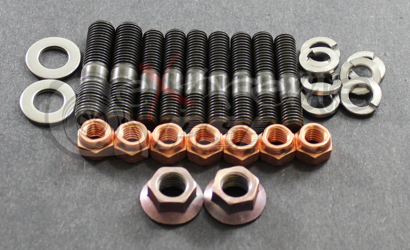 OEM Exhaust Manifold Stud Set : Mitsubishi Eclipse Turbo 90-99