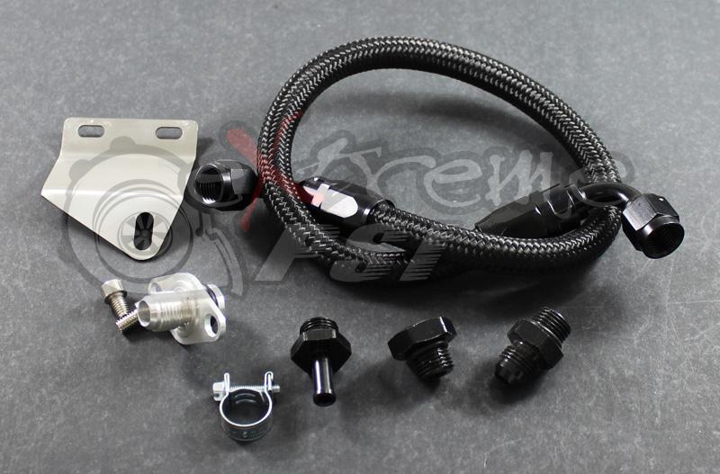 Fuel Pressure Regulator Install Kit (Firewall Install): Mitsubishi Eclipse 90 - 99