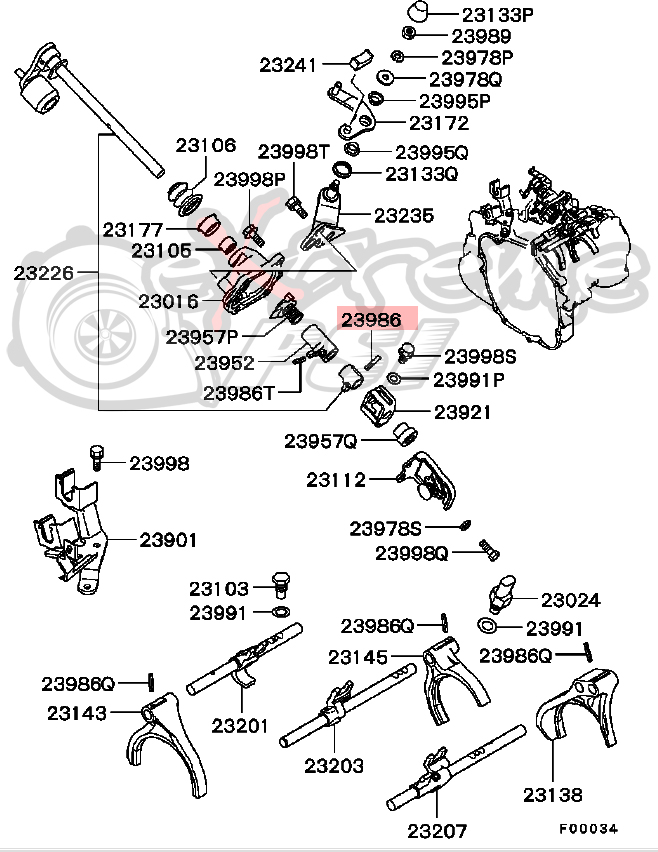 Evo 8 Transmission Diagram