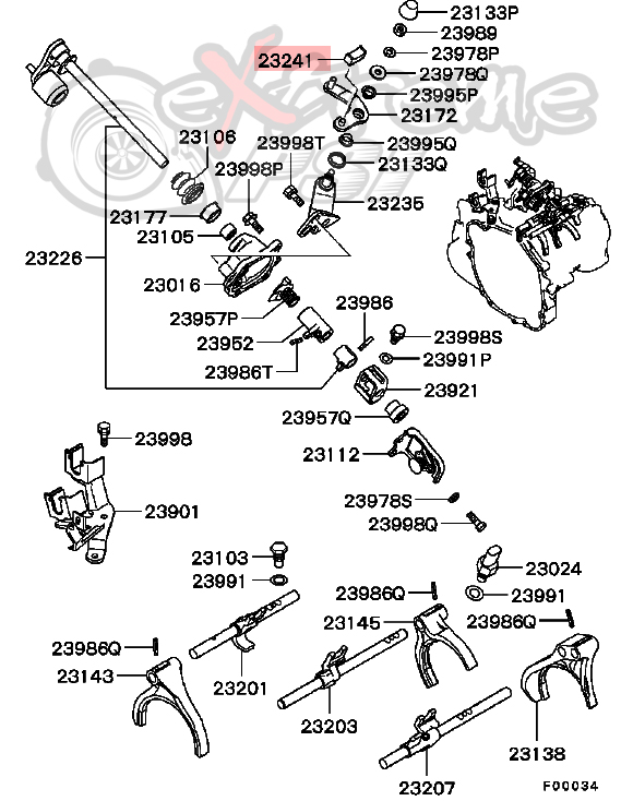ford 4600 clutch diagram
