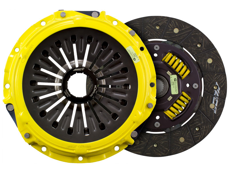ACT Heavy Duty (Monoloc) Street Clutch Kit (w/ OEM Release Bearing): Mitsubishi Lancer EVO X GSR (5-speed)
