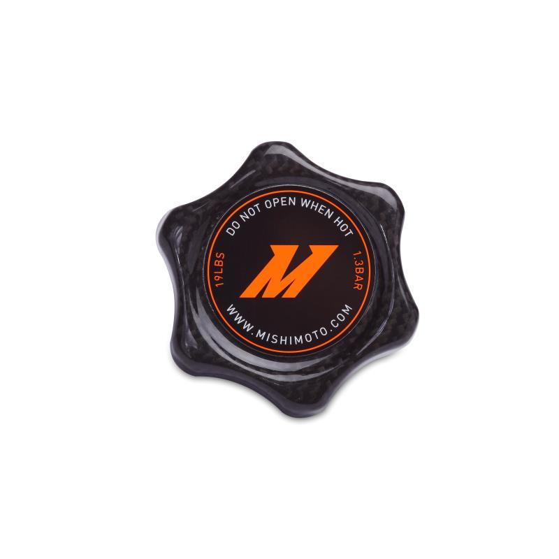 Mishimoto Carbon Fiber 1.3 Bar Radiator Cap Small (Fits most Imports)