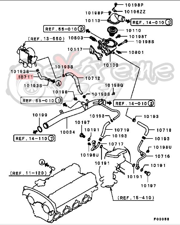 Extreme Psi Your 1 Source For In Stock Performance Parts. Oem Thermostat To Throttle Body Hose Mitsubishi Lancer Evo Viii Ix 31271. Mitsubishi. 2005 Mitsubishi Lancer Evolution Parts Diagram At Scoala.co