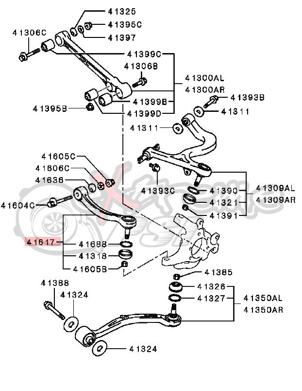 ford thunderbird suspension