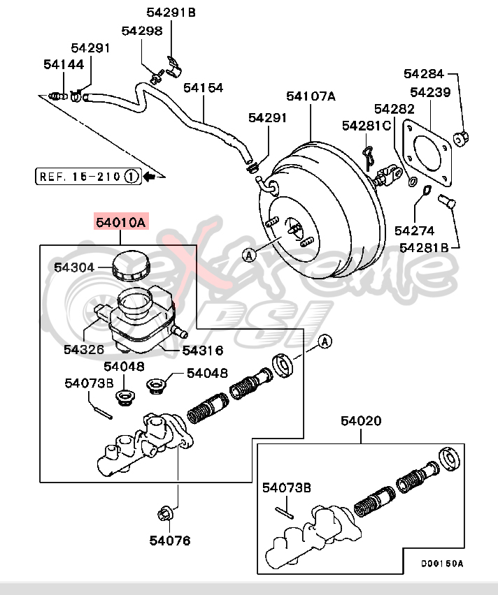 ford ranger brake master cylinder diagram  ford  auto fuse