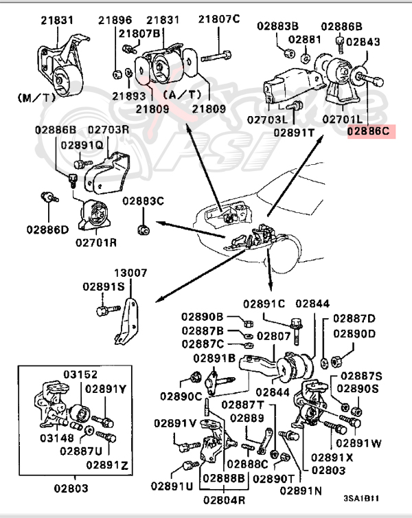 94 Accord Motor Diagram