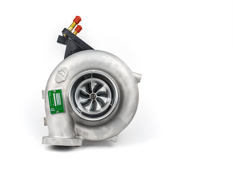 "Forced Performance ""GREEN 73HTZ"" Ball Bearing Turbocharger: Mitsubishi Evolution IX"