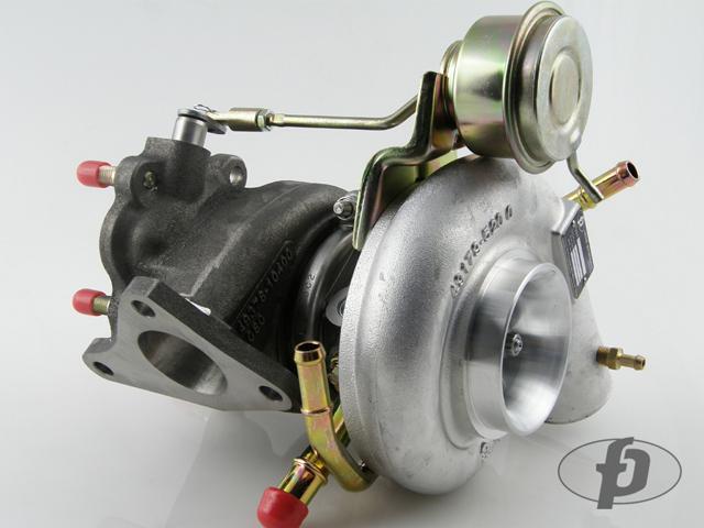 "Forced Performance ""GREEN HTZ"" Journal Bearing Turbocharger : Subaru WRX 2002-07 & STi 2004-14"