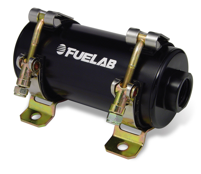 Fuelab Prodigy 41401 High Pressure EFI In-Line Fuel Pump: 105 GPH @ 45 PSI (Up to 1000HP)