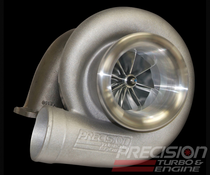 Precision T & E PT106 CEA Turbocharger : 2500 HP