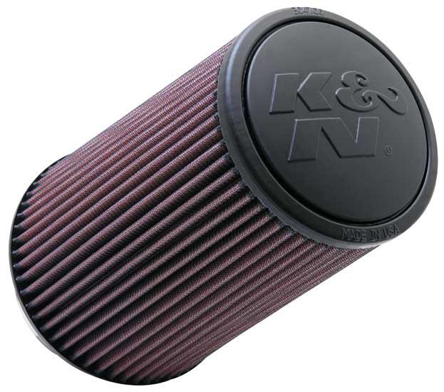 """K&N Universal High Flow Air Filters: 4.0"""" Inside Diameter, 9.0"""" Height"""