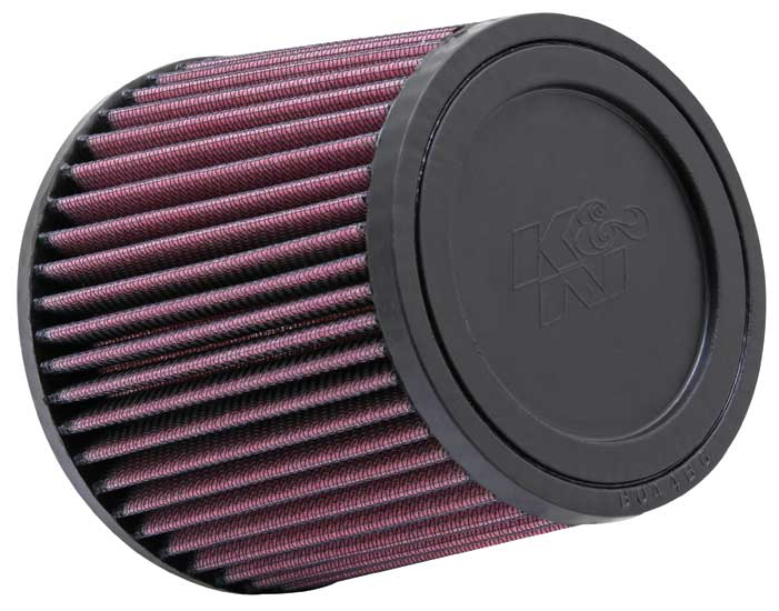 "K&N Universal High Flow Air Filters: 4.0"" Inside Diameter, 5.0"" Height"