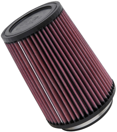 "K&N Universal High Flow Air Filters: 4.0"" Inside Diameter, 7.0"" Height"