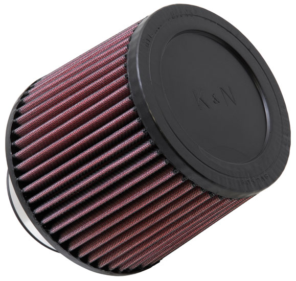"K&N Universal High Flow Air Filters: 3.0"" Inside Diameter, 5.0"" Height"