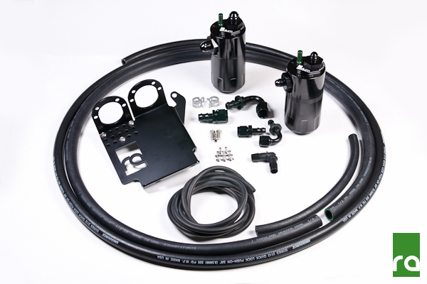 Radium Engineering Oil Catch Can Kit: Honda S2000 2006-09 (LHD), 2000-09 (RHD)